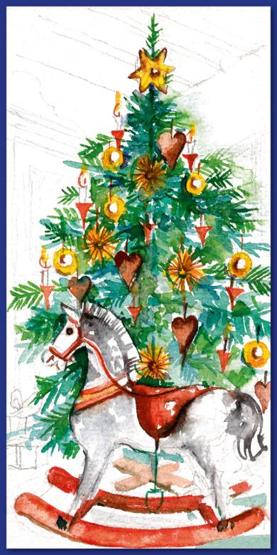Weihnachtsbaum nostalgisch bilder